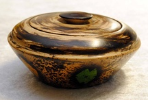 Africa - Bowls / Each bowl has unique stained decoration.