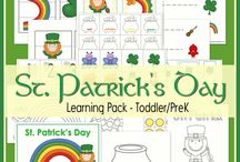 St. Patrick's Day Activities & Resources / Learning opportunities, games, food, activities, and everything green to get ready for a fun and educational St. Patrick's Day! LearningLiftoff.com/pin