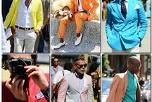 Menswear - colorful