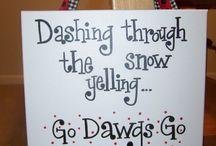 GO DAWGS!! / by Jaime Barela