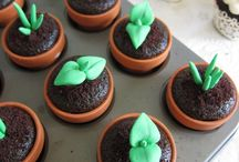 Cake n cup cake decoration idea