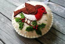 christmas felt craft