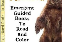 Bear Theme / Bear thematic fun for kindergarten math, reading, social studies, art, music, writing, and science.