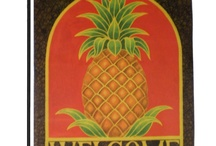 Pineapple House flags and Garden Flags