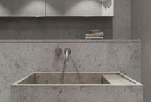 Shades of Grey / Natural stone in grey tones - inspiration.