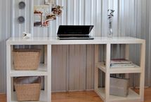 the house - office & craft room / by Kristen Holmes // miss prissy paige