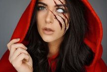 red riding hood makeup