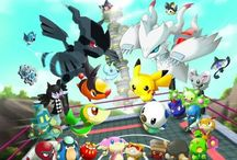 Pokemon Rumble Blast / A collection of official artwork from Pokemon Rumble Blast on the Nintendo 3DS. More info on this game @ http://www.pokemondungeon.com/pokemon-rumble-blast