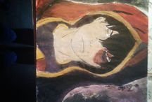 my own paints (insta. @ Sini.art.of.life)