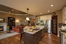 kitchen/family room ideas