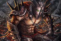 Monsters - Nightmare creatures