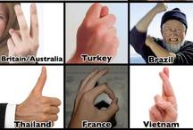 ganster gestures