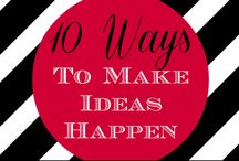 Inspiration Board and Creativity Tips for SPS Team / Images and tips that inspire you to be creative should be shared here