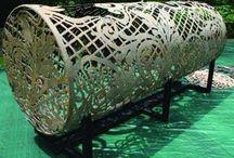 Vilde skulpturer og projekter