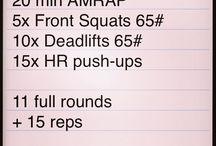 Sweat It / AMRAP & HIRT Combinations