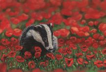 Wildlife / I love painting wildlife and you'll find lots of my original pieces in galleries throughout Ireland and private collections worldwide.  These are some of my favourites but there are many more on my website www.EmmaColbertArt.com and my facebook page www.facebook.com/EmmaColbertArt