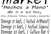 Presentaciones, Charlas, Ferias, mercadillos y exposiciones / Aquí iré colgando los carteles de los sitios a los que acuda.