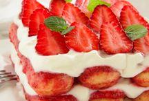 Fragole,Strawberries,Fresas...maduixes / Dolci!!! Dessert  !! Postres