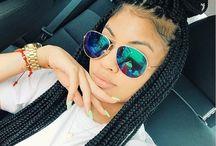 braids styling