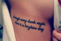 |Quotable Tattoos| / Quotes, poems, words, song lyrics as tattoos / by Minimal Tattoos