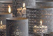 Candles/Candelabra/Candlestick/Lantern / by Stephanie Webber Barry