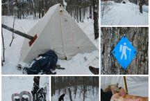Camping - Winter