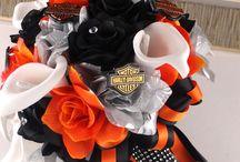 Harley Davidson bouquet