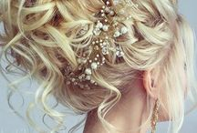 Wedding dos curly hair