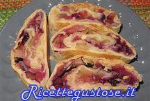 Dolci - Ricette strudel / Ricette facili e strudel golosi ! https://www.ricettegustose.it/Categorie_ricette/Strudel_di_mele_e_fichi_ricette.html