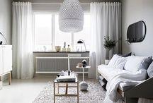 Nórdico / Inspírate en los ambientes y muebles nórdicos para conseguir un clima suave, cálido y acogedor.
