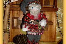 ✿⊱╮NATALE ✿⊱╮ Muñecas, Dolls, Bambole, Kуклы, Puppies / Tutte le mie Creazioni per decorare e festeggiare il Natale