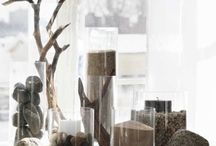 Foyer and wall decor / Diversity of artistic expression in home decor / by Melissa G