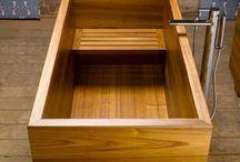 drevená vana
