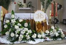 catholic flower decorations