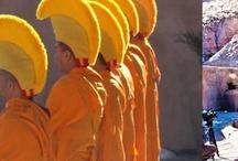 Tibetan Monks at Ojo