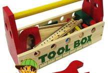 Toys / Urban Brats have a great range of sturdy, wooden toys and non-toxic paint is used. Postage available within Australia only.