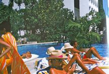 Slim Aarons... makes me want to live poolside