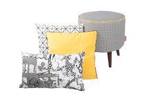pouf stool & pillows CUSCINO