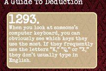 Deduction & Manipulation