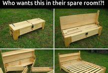 Snekre møbler