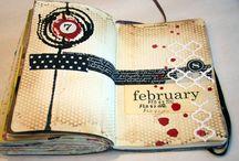 """""""Book"""" art journal"""