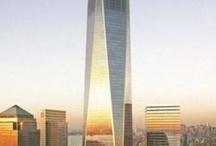 building / One World Trade Center / 1 WTC / Freedom Tower : bangunan pencakar langit tertinggi ke-3 di dunia