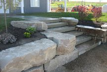boulder front entrance