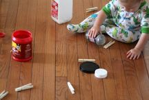 Kids activities - toddlers / Ideas to keep a toddler amused