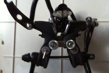 riciclo pezzi bicicletta