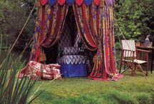 Bohemia / A little bit gypsy, a little bit funky, a little bit wild. Filled with  gorgeous, mysterious colour..my Bohemian world / by An angel in the garden