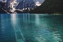 Cascadas, Mares, Lagos, Rios, Islas y Glaciares / aguas del universo...