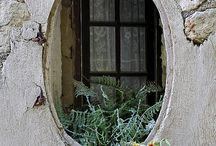 Цветы на фасадах