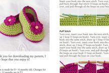 booties knitting pattern free