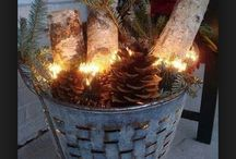Christmas decor / by Edlyn-Ric Mares
